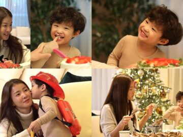 Actress Lee Si Young reveals her adorable son for the first time ever on 'Point of Omniscient Interference'